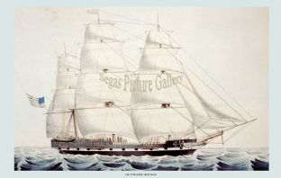Clipper Ship - the Outward Bound